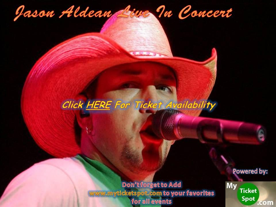 Jason Aldean Mountain View Tickets on September 30, 2017 at Shoreline Amphitheatre - CA