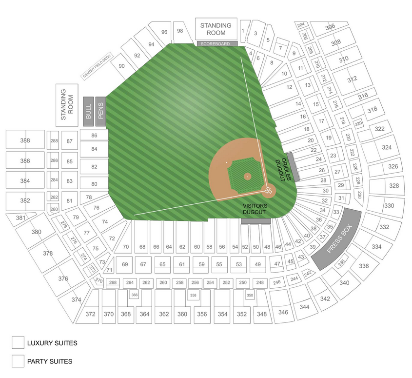 Baltimore Orioles Tickets October 28 2012 At 1 00 Pm