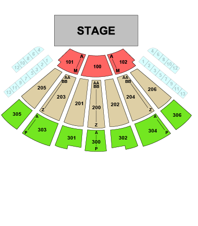 Theater At Msg Seating Chart Cabinets Matttroy