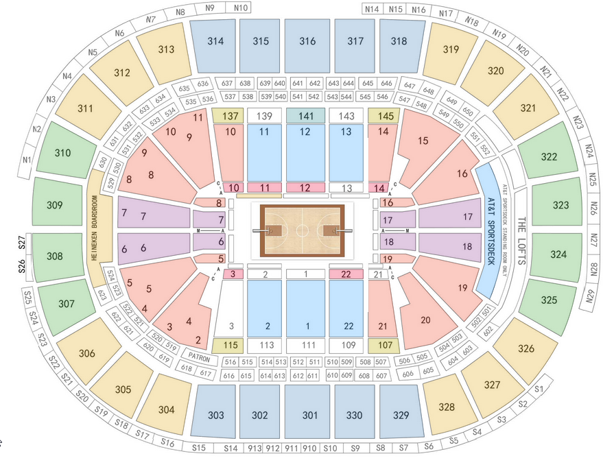 Boston celtics vs bulls tickets april 18 2017 at 8 00 pm td garden for Td garden seating chart with seat numbers